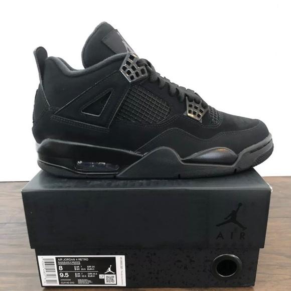 Jordan Shoes | Retro Jordan 4s Black
